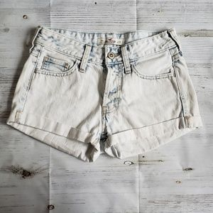 Hollister shorts light wash color Size 00 W23